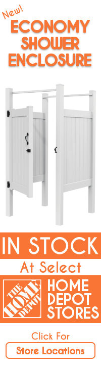 Economy Shower Enclosure Now In Stock At Select Home Depot Stores -- Click For Store Locations
