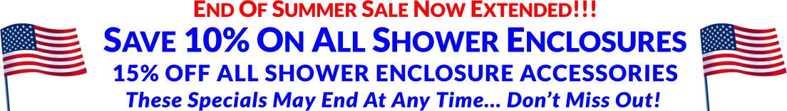 Mobile Home Shower Stalls For Sale