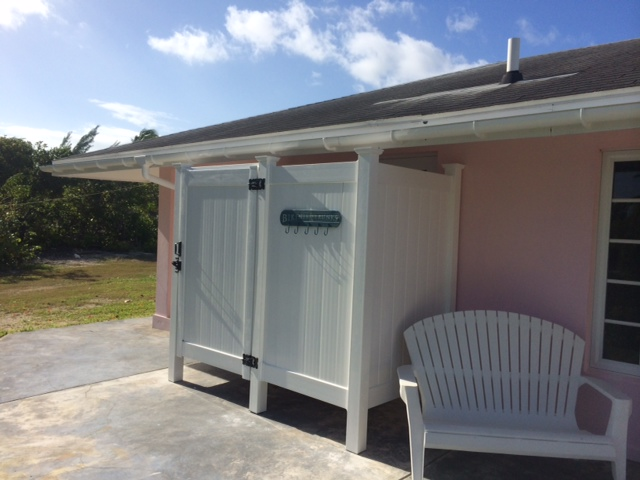 Outdoor Shower Enclosures In The Bahamas image